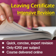 Kilroy\'s College Leaving Certificate Revision Courses