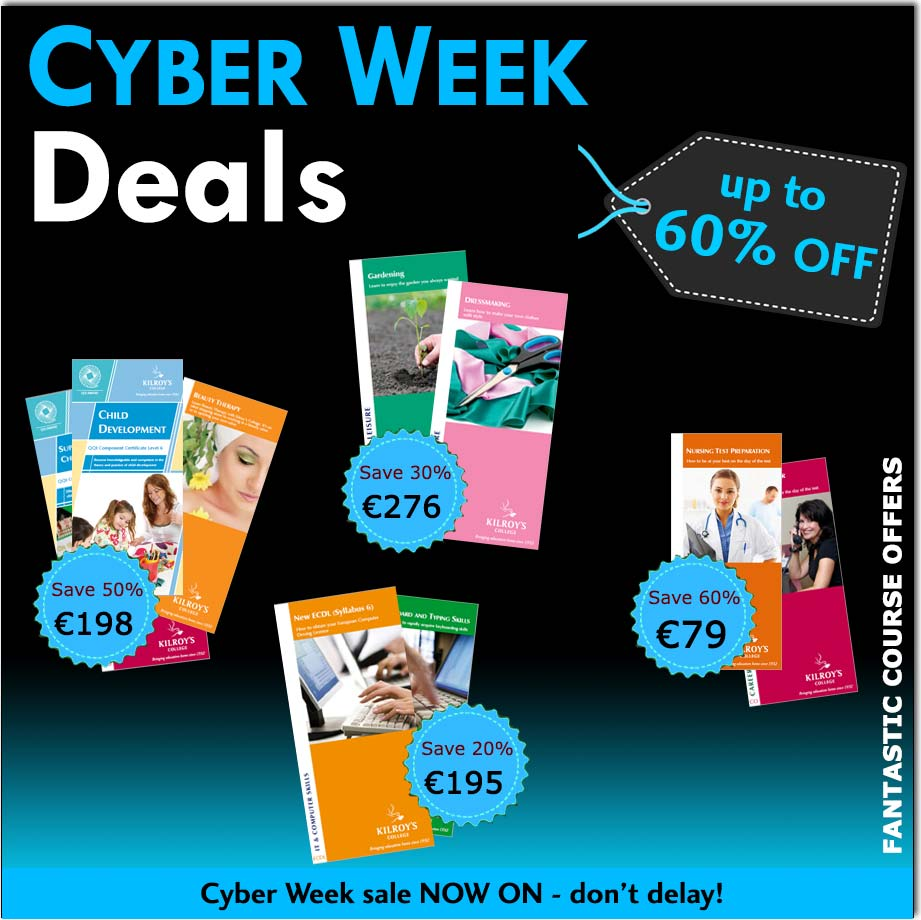 Kilroy's College Cyber Week offer