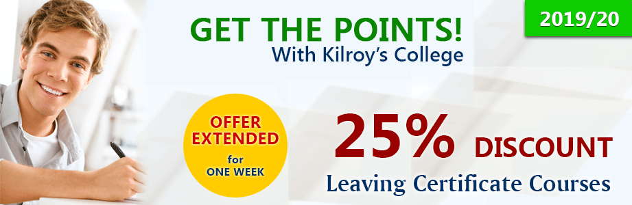 Kilroy's College August Holiday Offer